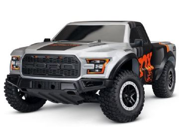 Traxxas 58094-1FOX  2017 Ford Raptor F150 XL-5 2WD - Fox Edition